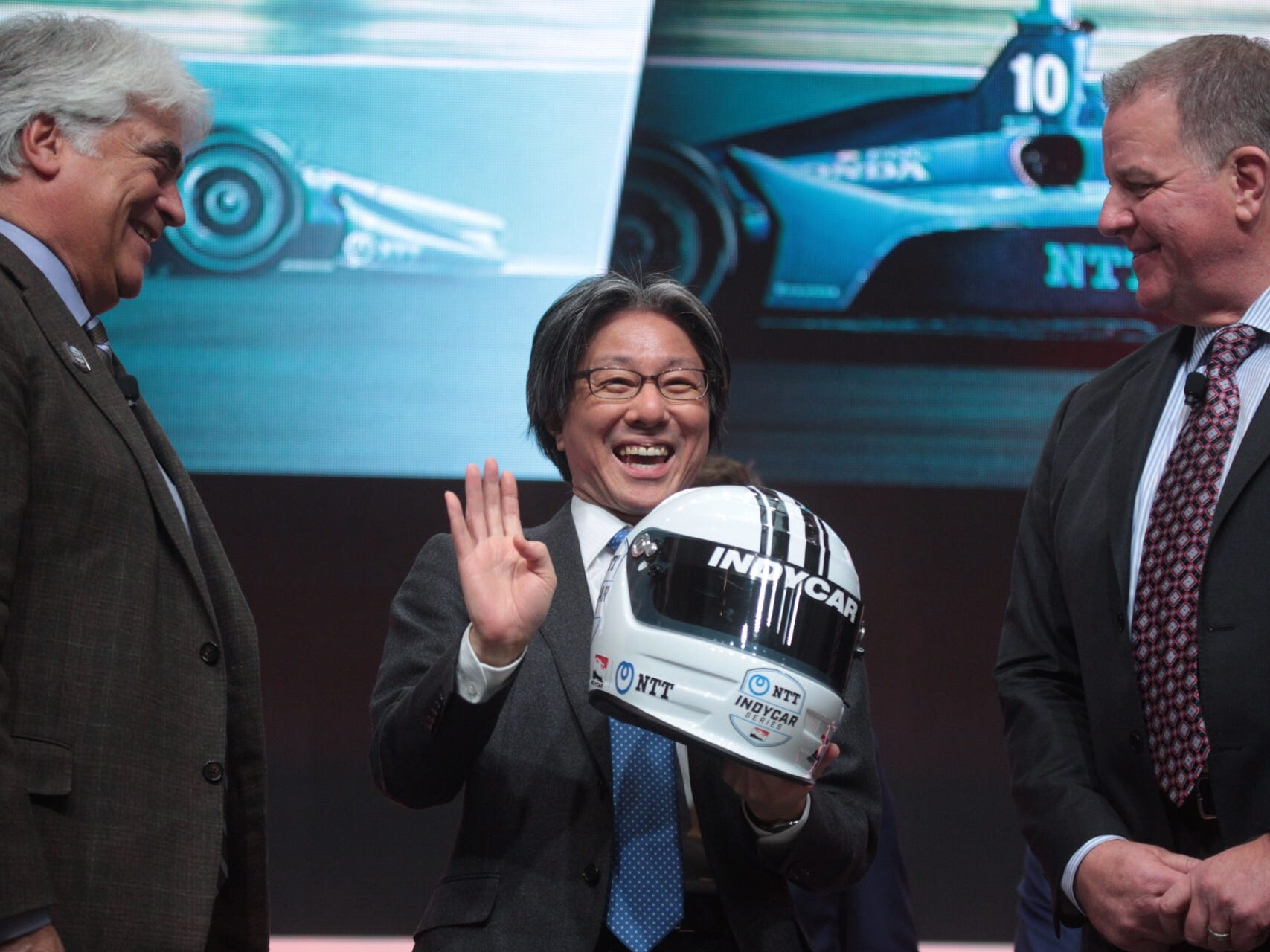 IndyCar announces NTT as primary sponsor at Detroit Auto Show