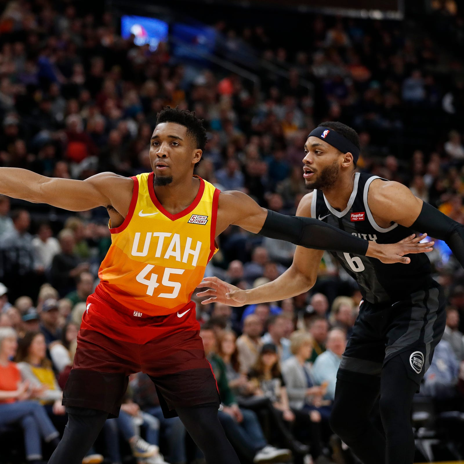 Donovan Mitchell opting out of NBA slam dunk contest a year after winning