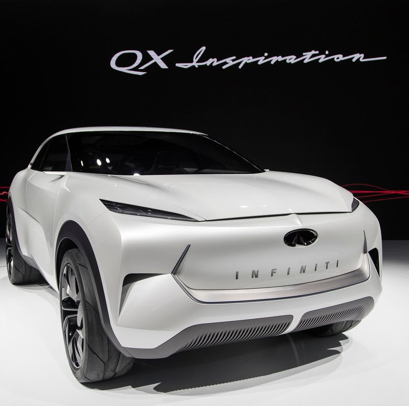 Hot off the grille: Detroit auto show features the latest designs