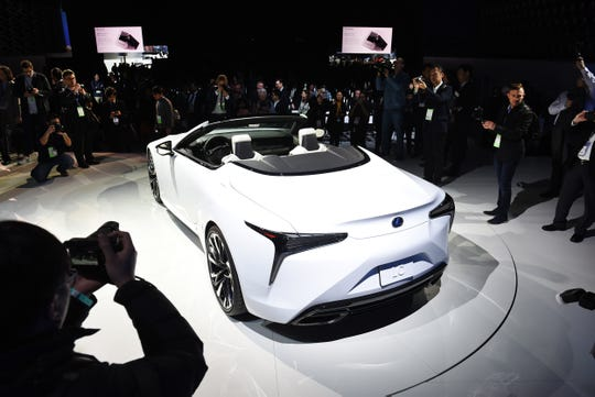The Lexus LC Convertible concept