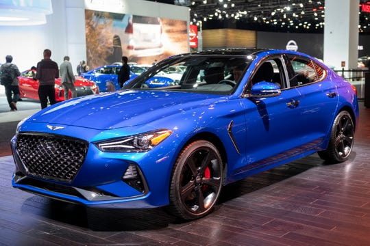 The Genesis G70 was named the Car of the Year by the North American Car, Utility and Truck of the Year automotive media jury.