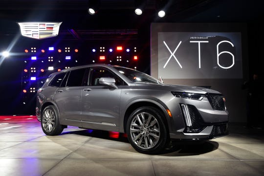 The 2020 Cadillac XT6 sports edition