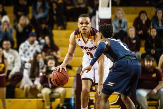 Larry Austin's 18.7 points a game is fourth in the Mid-American Conference.