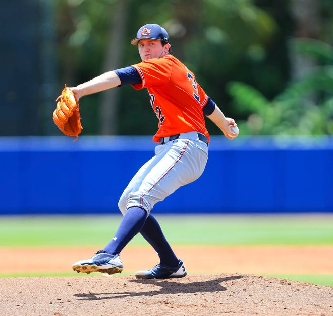 The Tigers selected right-handed pitcher Casey Mize No. 1 overall in last June's draft.
