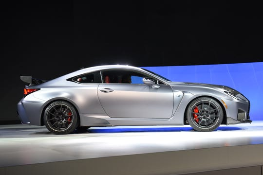 The Lexus RC F Track Edition