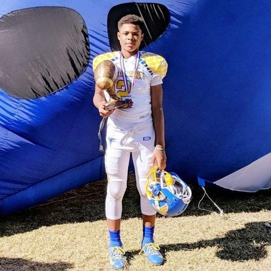 Isaiah Marshall, a 5-8, 155-pounder, is a seventh-grader at MacArthur Academy in Southfield.