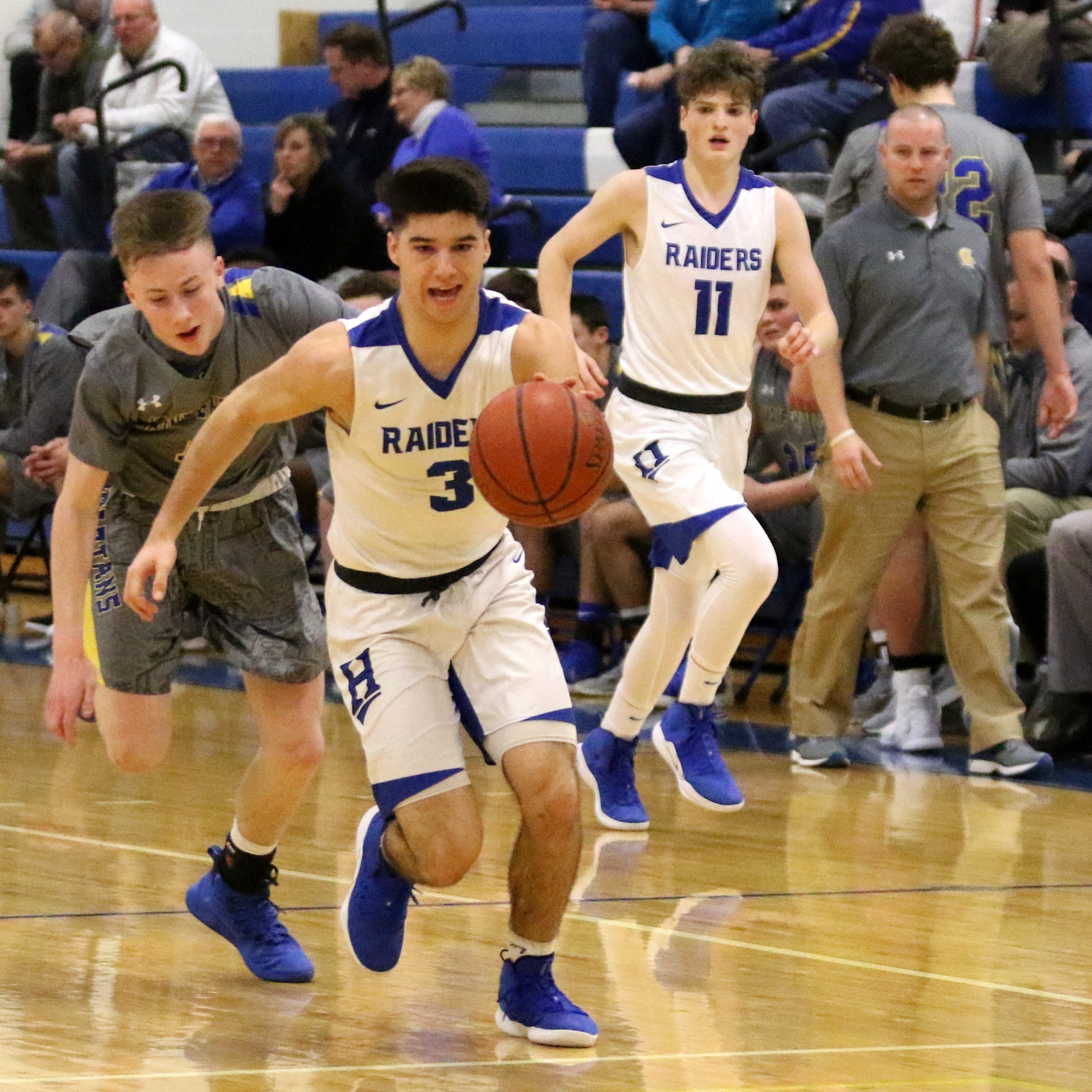 Horseheads boys rally from 19 down to beat Maine-Endwell in overtime