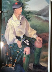 A portrait of George Cunningham, of Horseheads, who founded the Scottish-American Society of the Southern Tier.