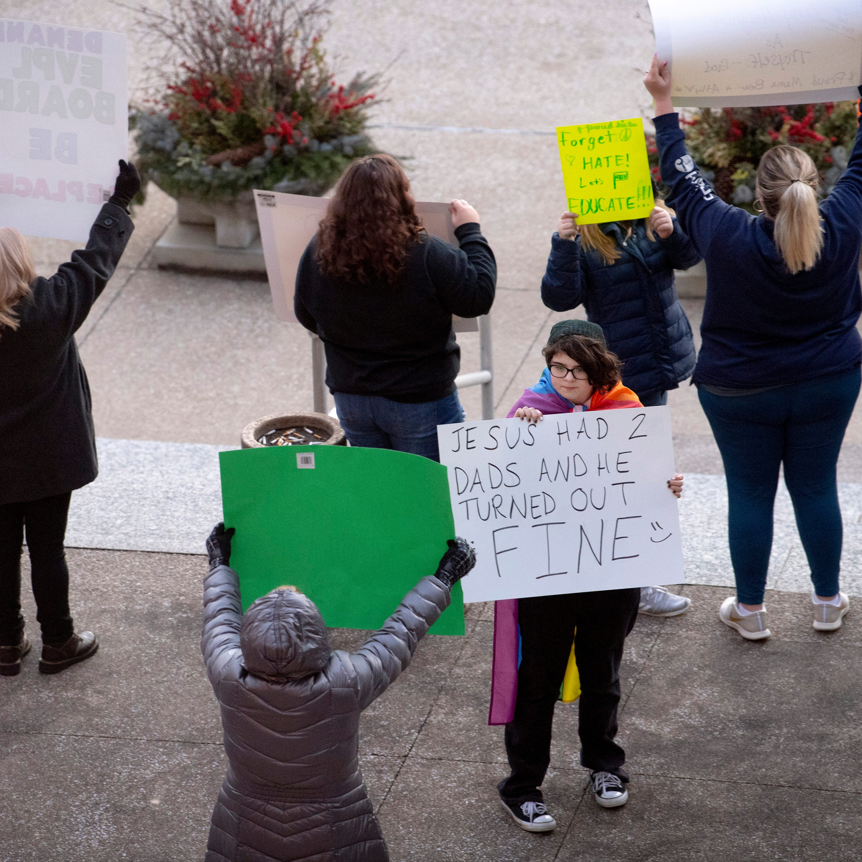 Drag Queen Story Hour outrage, support brings out crowd