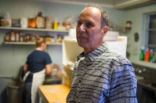 Owner Moe Kamandy stands in the kitchen at Mountain Cafe on Tuesday, January 15, 2019. The breakfast and lunch spot is entering its 45th year in Old Town.