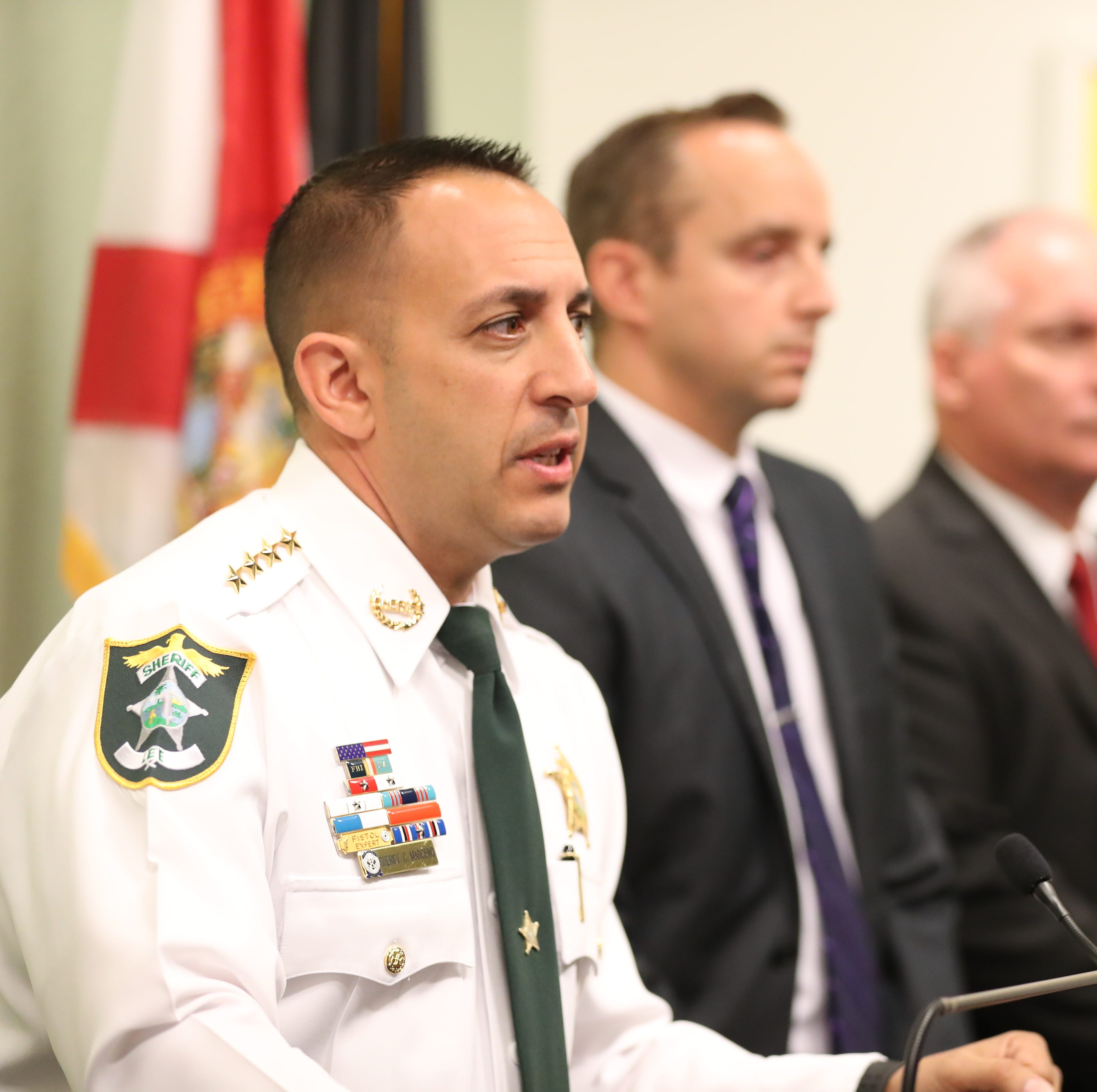 FDLE won't pursue criminal investigation against Lee Sheriff Marceno for alleged 'threats' in paternity suit