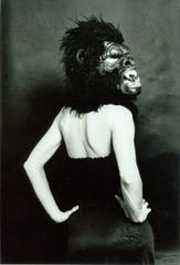 "A promotional image for the exhibit ""Guerrilla Girls: Rattling Cages"" at Bob Rauschenberg Gallery in south Fort Myers."