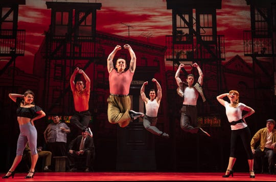 "A scene from the national tour of ""A Bronx Tale"""