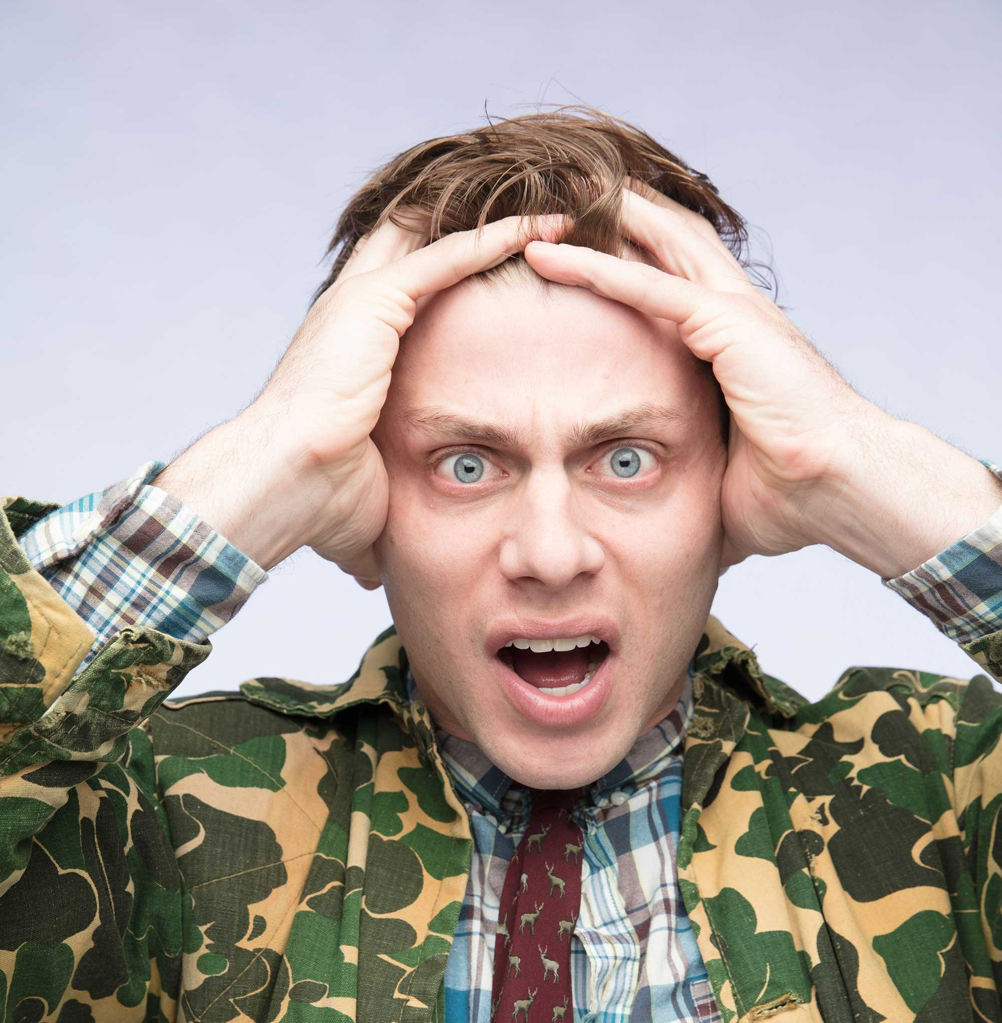 Meat raffles, camo, ice fishing: 12 silly WI questions for 'Manitowoc Minute's' Charlie Berens