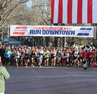 Results from The Greenville News Run Downtown 5k