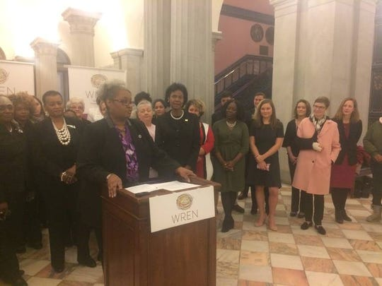 A coalition of female state lawmakers, women's and worker's rights groups, led by state Rep. Wendy Brawley, D-Richland, say they will push to close the gender pay gap in South Carolina this session in the General Assembly.