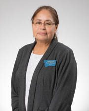Rep. Rae Peppers, D-Lame Deer