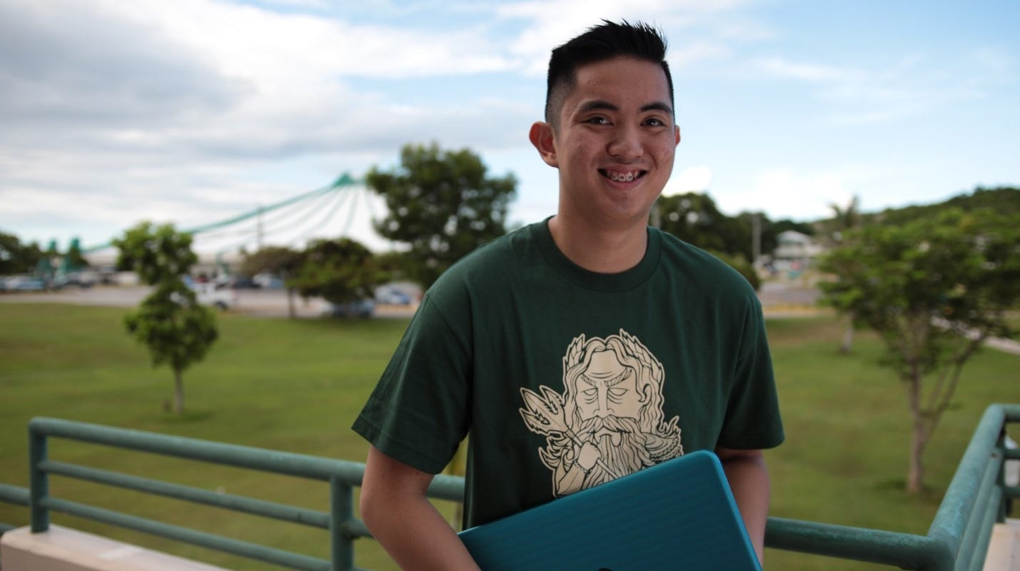 Students from Guam and Micronesia as well as all other Pacific Islands can benefit from lower tuition, smaller class sizes, and a diverse campus life when they choose to study at the University of Guam.