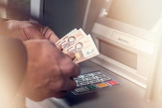 A study found that many parts of ATMs in NYC are laden with germs.