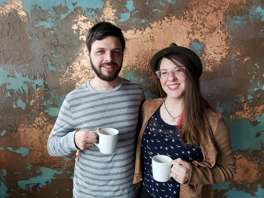Zach Guthrie and Stephanie Poppe are the owners of Indy Coffee Box, a coffee subscription service.