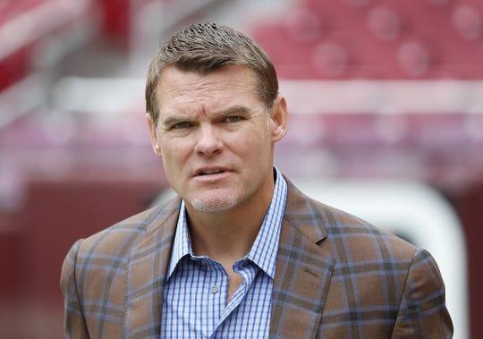 Colts general manager Chris Ballard