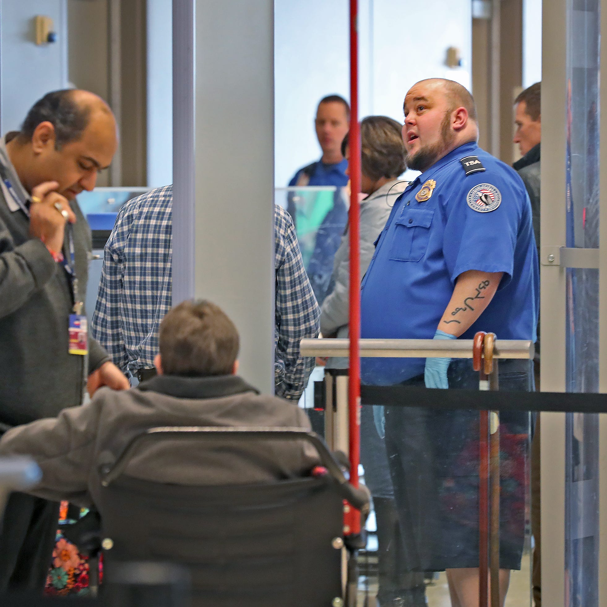 Our View: Shutdown building a wall -- at TSA checkpoints