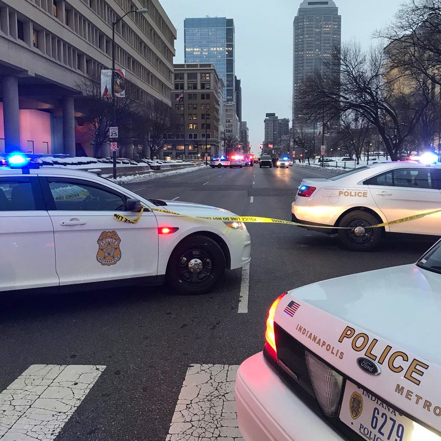 Police: 1 killed, 1 in custody after Downtown Indianapolis shooting