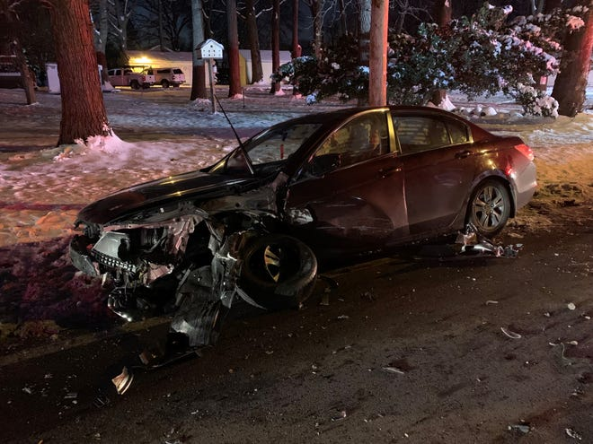 Wayne Township firefighters responded to a crash that injured 10 on Jan. 14.