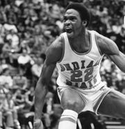 Carl Nicks was known as Mr. Intensity when he played at Indiana State with Larry Bird.