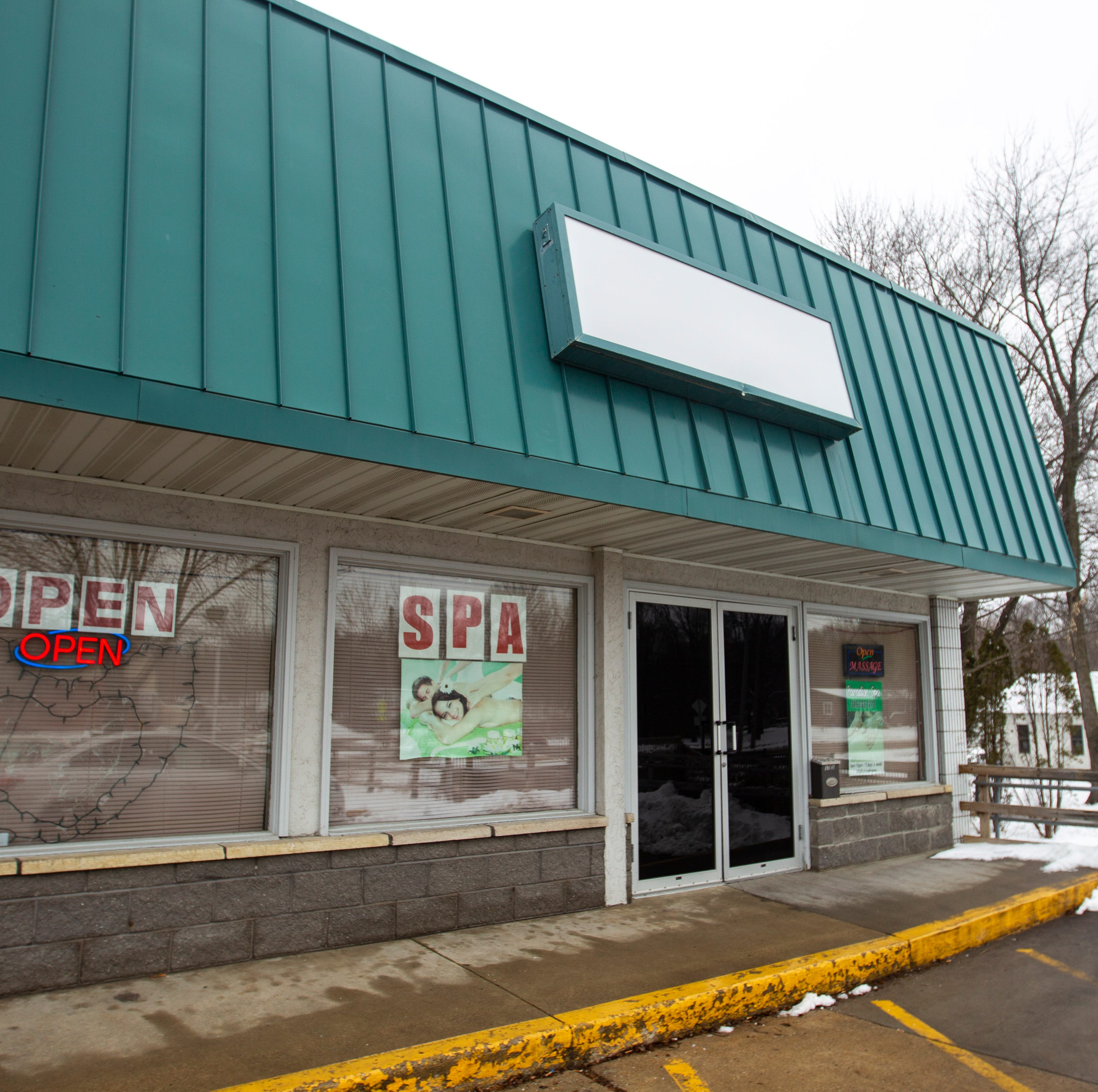 Several massage parlors failed to comply with massage business ordinance
