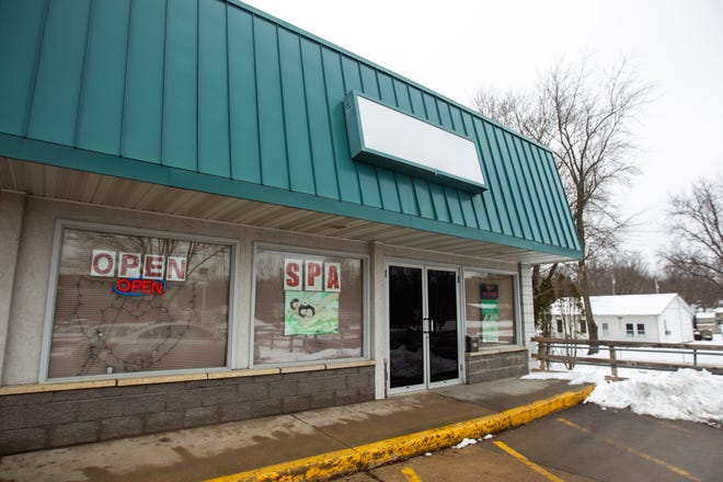 Paradise Spa is seen on Tuesday, Jan. 15, 2019, at 805 S. 1st Avenue in Iowa City, Iowa.