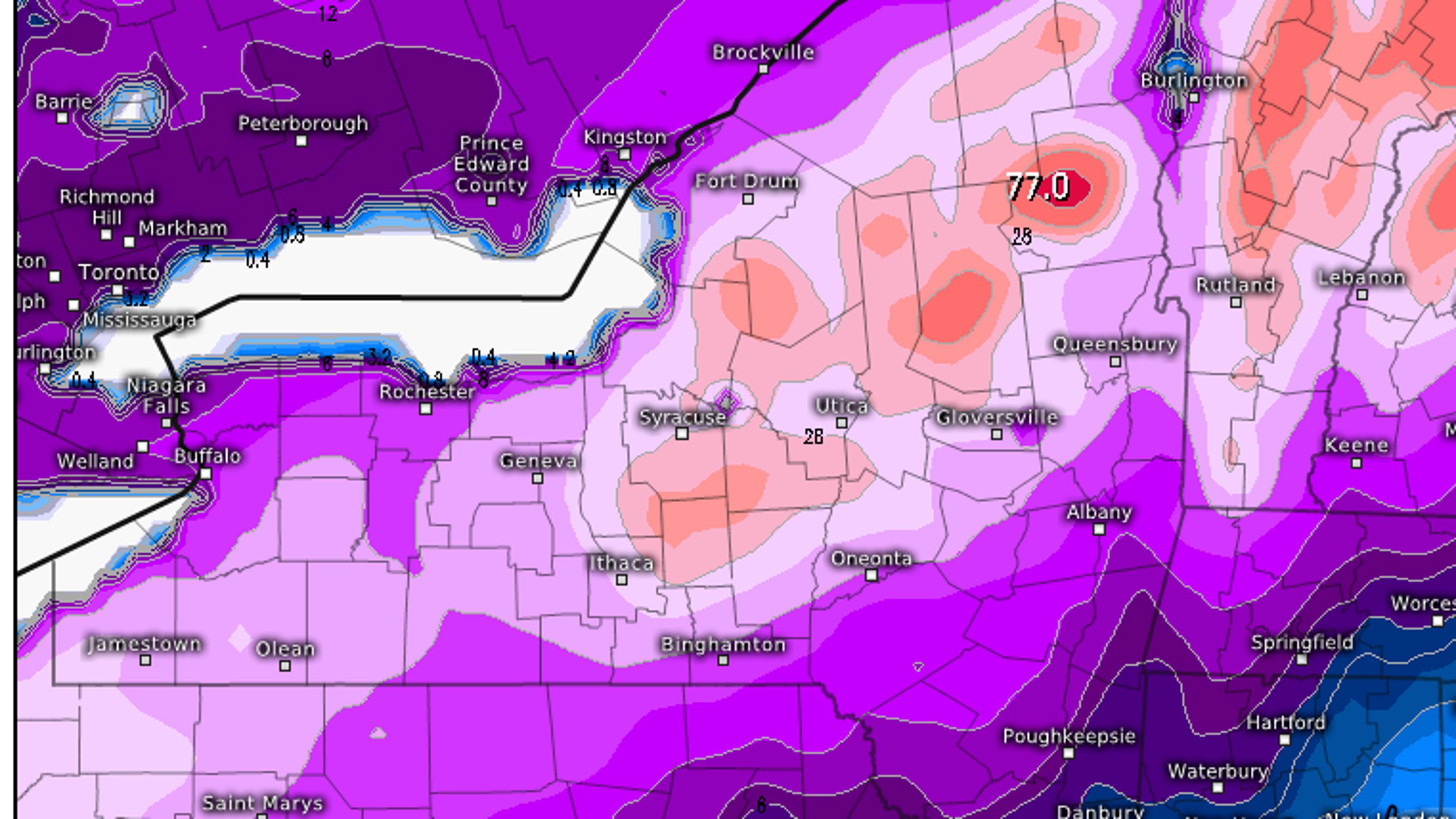 Weekend winter storm developing for MLK Jr  weekend