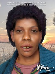 Forensic artist Carl Koppelman did a new facial reconstruction of an unidentified woman who was found north of Pascagoula. Investigators believe she may have been a victim of serial killer Samuel Little.