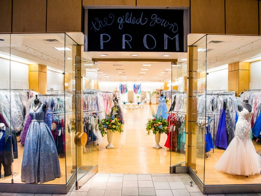 The Gilded Gown in Knoxville Center Mall recently expanded just in time for prom season.