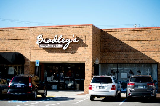 The exterior of Bradley's Chocolate & Gifts on 141 N. Peters Road in West Knoxville, Tennessee on Wednesday, January 9, 2019. Knoxville Chocolate Company has moved their World's Fair kitchen to their new facility for more space and increased capacity.