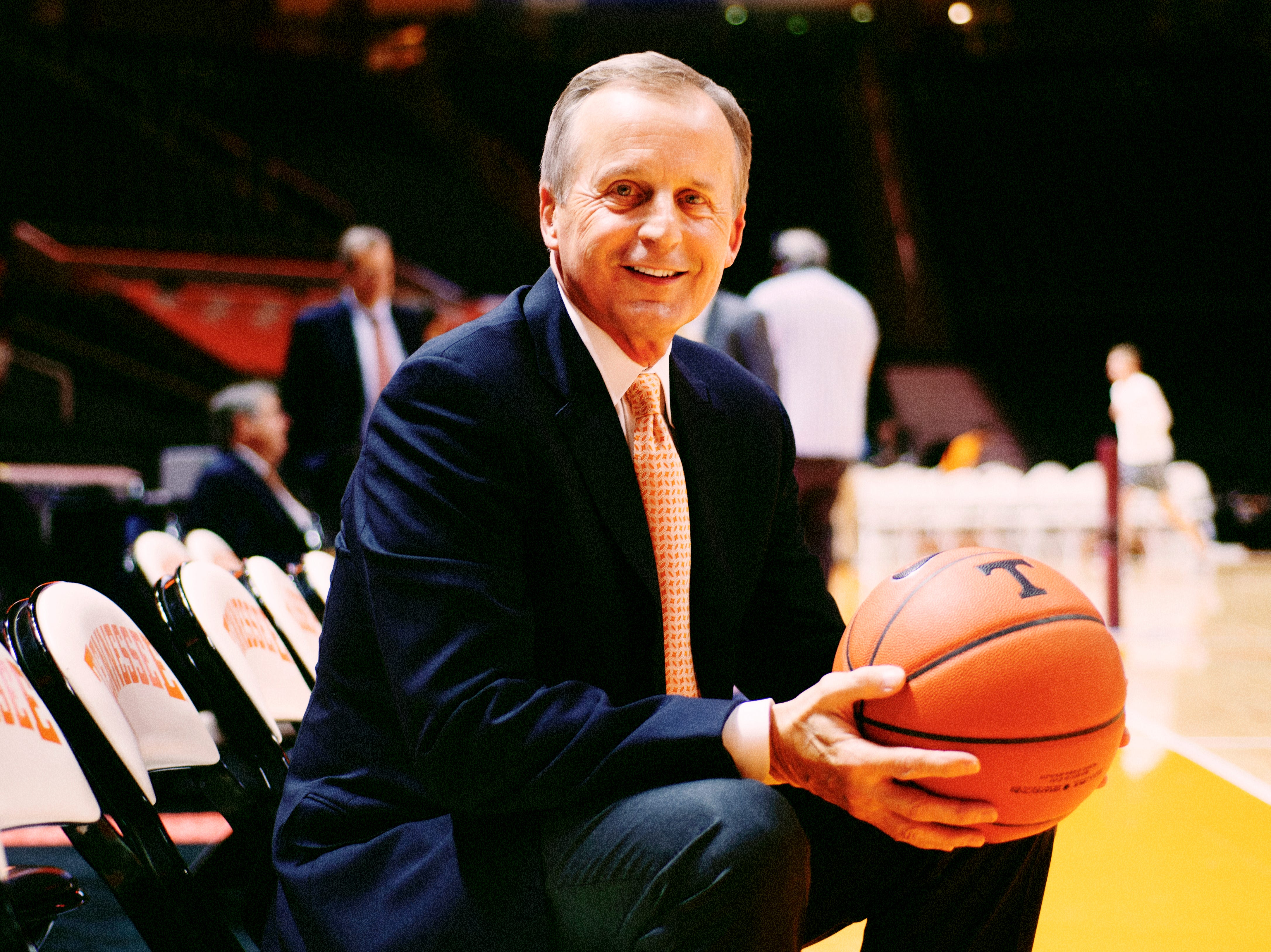 Tennessee Volunteers Basketball Head Coach Rick Barnes is the News Sentinel sportsperson of the year - taken on Knoxville, Tennessee on Wednesday, December 19, 2018.