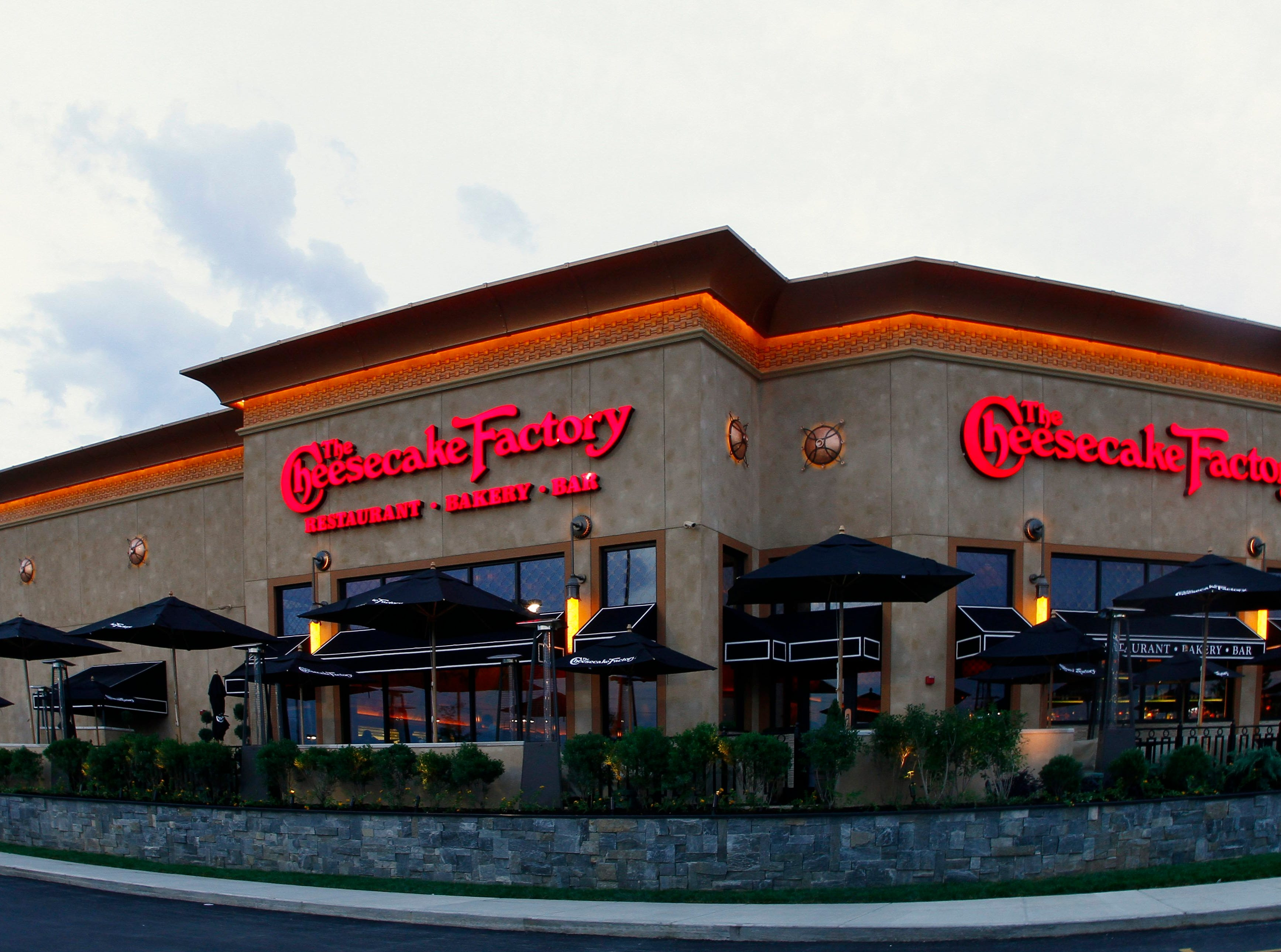 The new Cheesecake Factory at West Town Mall.