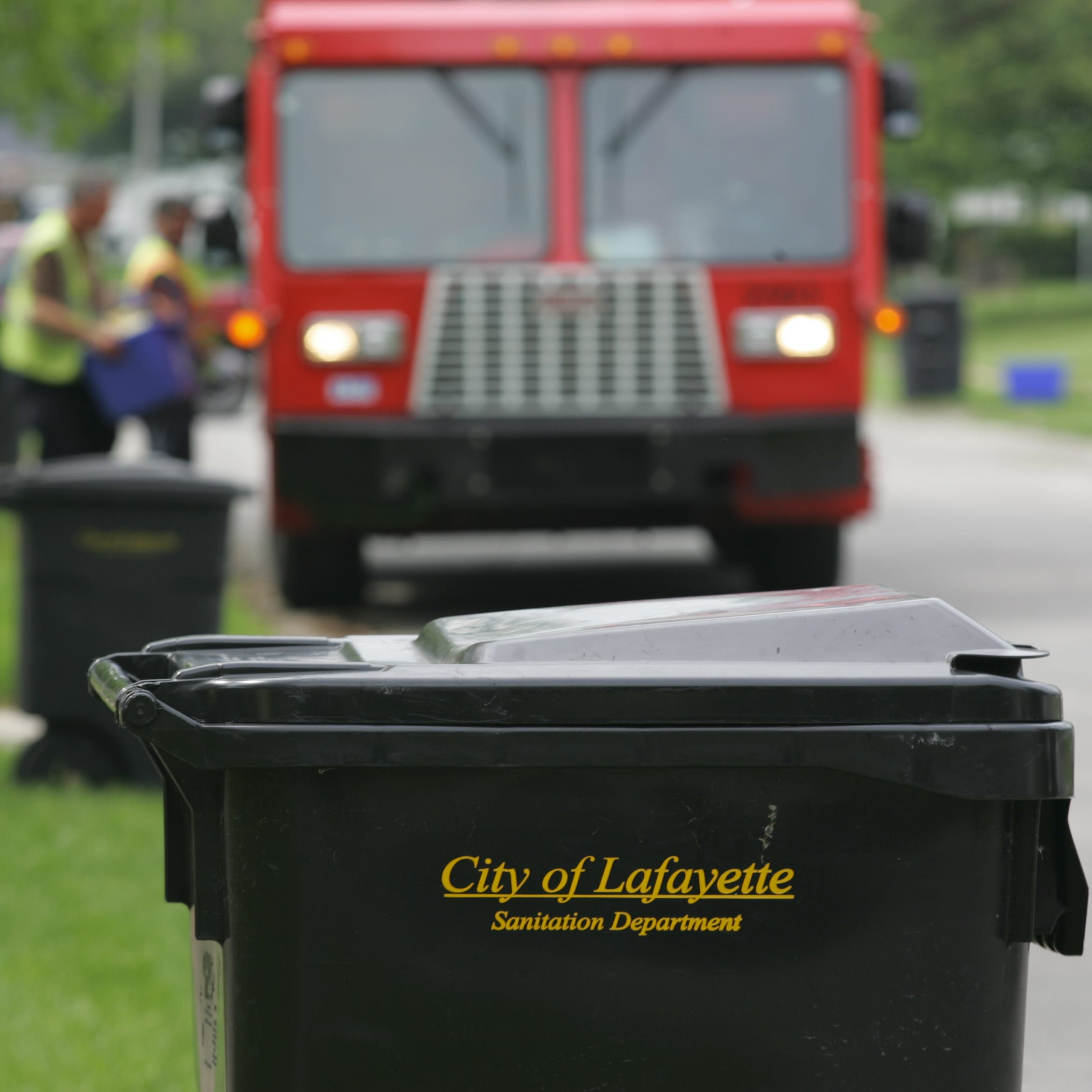 Lafayette trash day: Check to see if yours is changing in 2019
