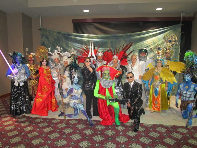 The Krewe of Rio's 2019 royal court