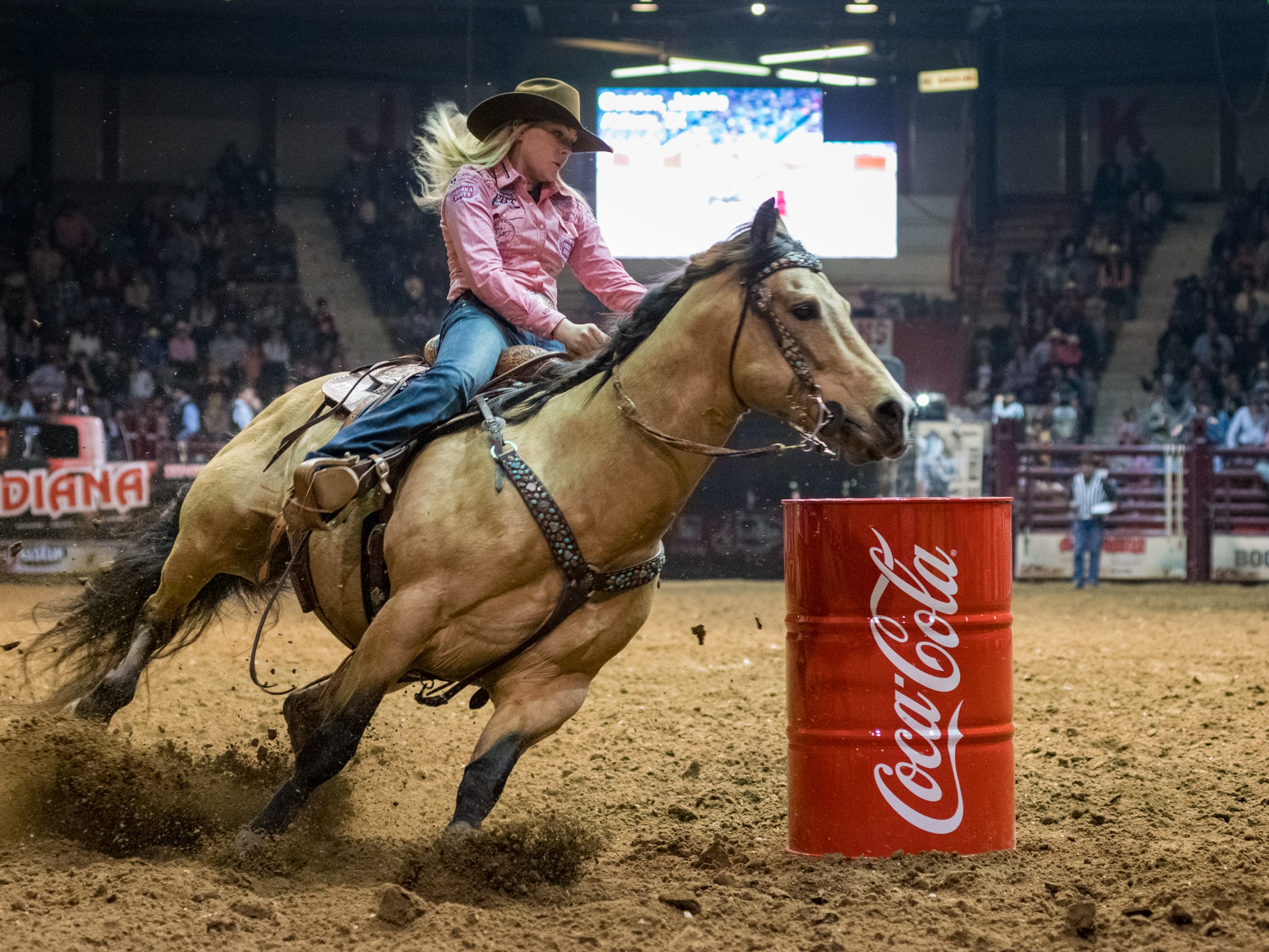 Mid Winter Fair and Pro Rodeo at Blackham Coliseum. Saturday, Jan. 12, 2019.