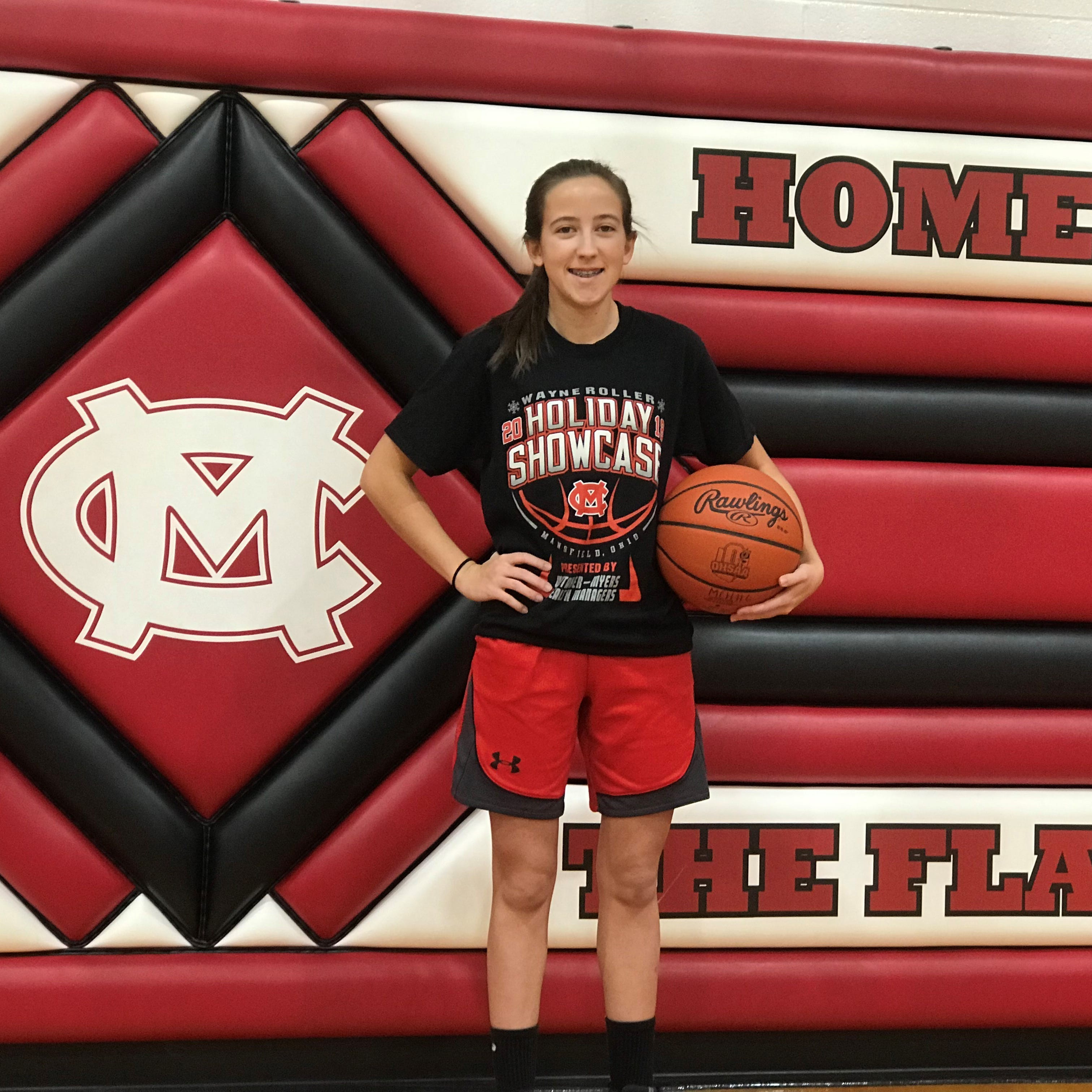 All heart: Mansfield Christian's Ashley Maiyer isn't slowed down by hip dysplasia