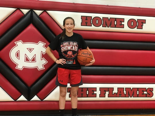 Mansfield Christian's Ashley Maiyer had a rough start to life, yet she doesn't allow that to keep her off the basketball court.