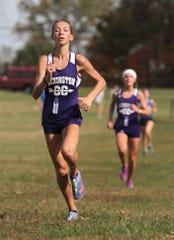 Lexington's Carina Weaver left her imprint on one of the state's premier cross country programs.