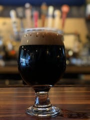 Stouts, such as MobCraft Brewery's Queen Hazel, are particularly popular in the winter.