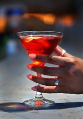 The cosmopolitan is another popular winter drink, which might come as a surprise to some. Artisan 179 bar manager Adam Nobs thinks it might be due to the drink's high alcohol content.