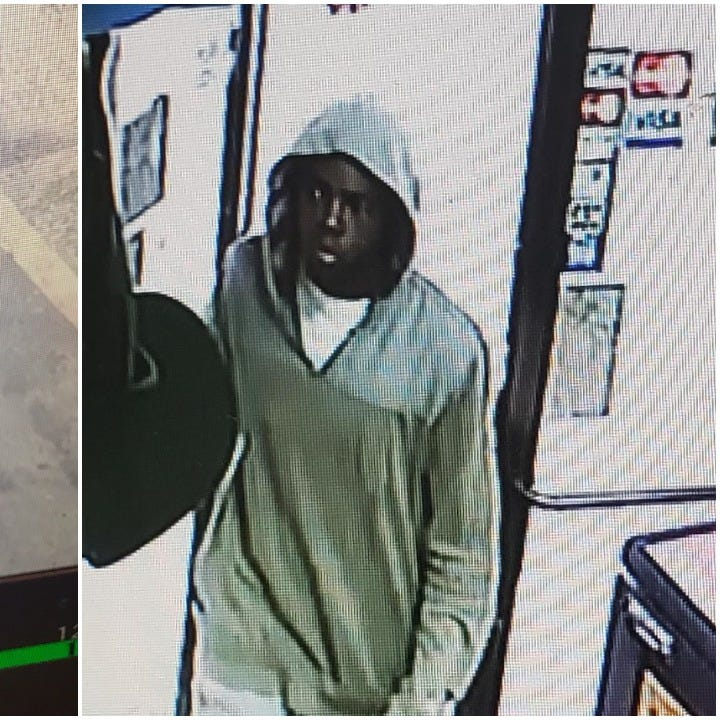 A suspect in a robbery at a Monroe Valero station on Jan. 12.