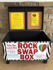 Becky Woodell, administrator of the West Ouachita Parish Rocks #WOPR Facebook group, said they have created two swap boxes to keep the community game going. One is at Spillers Stop N Shop, 1005 U.S. 80, Calhoun, and the other is at Parish Line Market, 15098 Louisiana 15, Downsville.