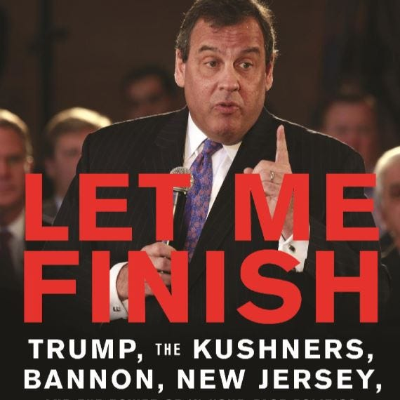 Christie to speak, sign copies of 'Let Me Finish' at Mendham Twp. event