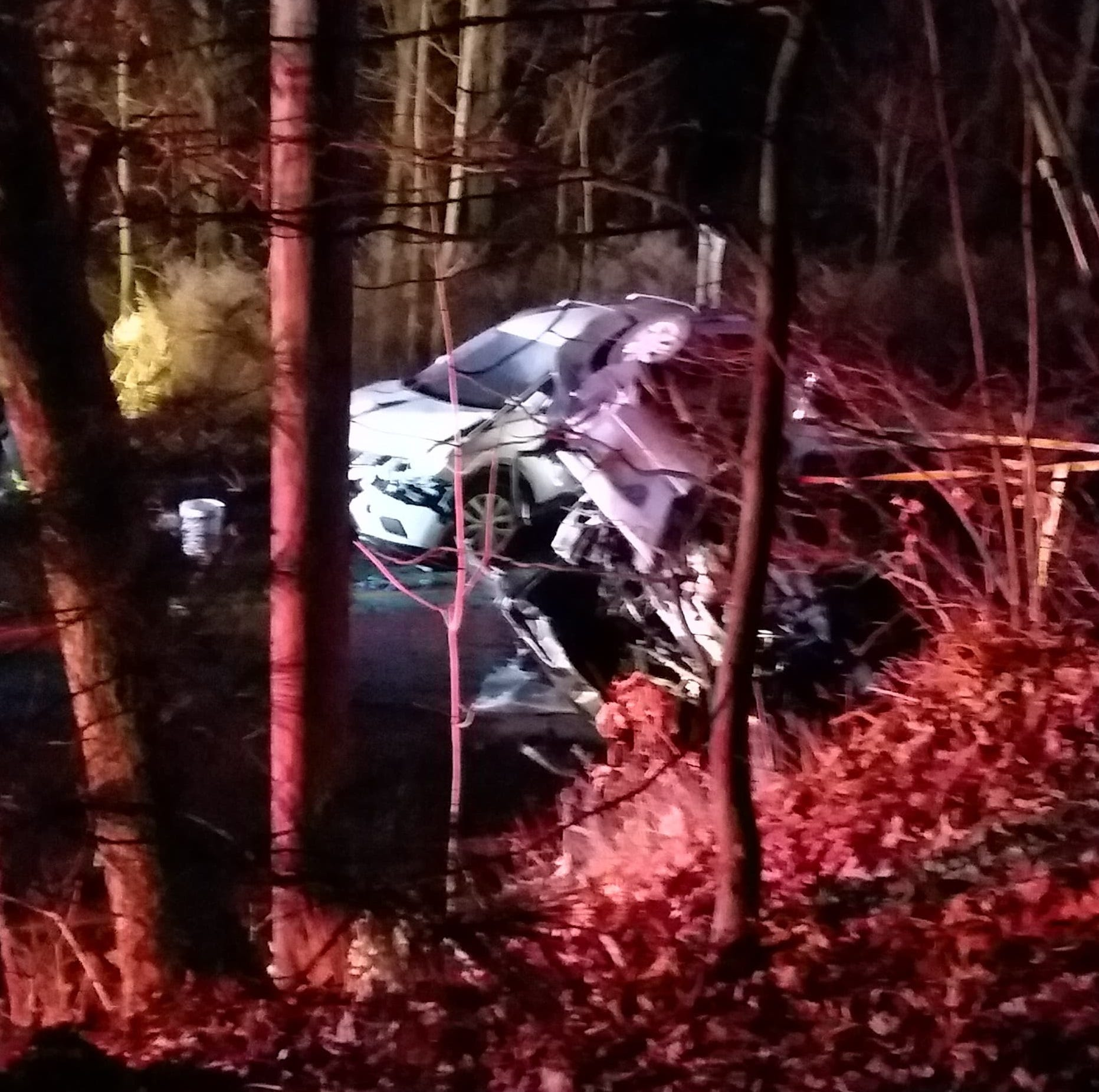 Serious injuries reported in three-car Jefferson Township crash