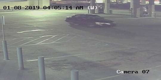 Prattville police believe a suspect in a burglary and theft case was traveling in this vehicle.